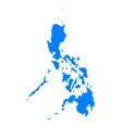 Map of Philippines vector image vector image
