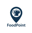 food point image vector image