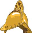 helmet 1 vector image
