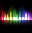 musical equalizer vector image