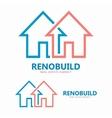 house line logo design element vector image
