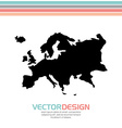 europe map design vector image