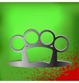 Brass Knuckle vector image