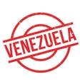 venezuela rubber stamp vector image