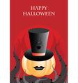Halloween Pumpkin Background vector image vector image
