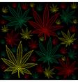 Marijuana-Cannabis-background vector image vector image