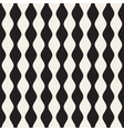 Seamless Black and White Vertical Stripes vector image