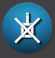 Single non-drink icon vector image