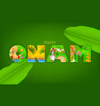 Onam Background vector image vector image
