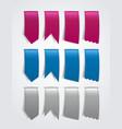 Ribbons vector image