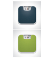 Bathroom weight scale vector image