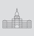 Michigan vector image