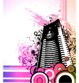 Abstract urban background vector image