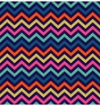 Colorful zigzag seamless pattern vector image