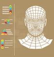 medicine infographics vector image