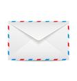 Postage envelope vector image