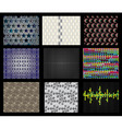 seamless textures vector image