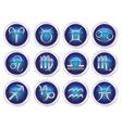 horoscope zodiac signs vector image