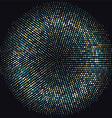 abstract dots 2208 vector image