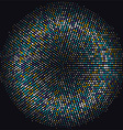 abstract dots 2208 vector image vector image