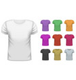 mens short t-shirt set vector image