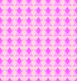 Abstract pink rhombus seamless pattern vector image