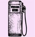 gasoline pump petrol gas station vector image