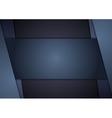 Dark blue corporate tech art vector image vector image