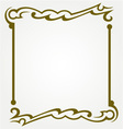 Decorative frames vector image vector image