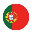 Portugal flag vector image
