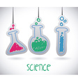 science drawn vector image