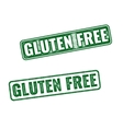 Realistic Gluten Free grunge rubber stamp vector image