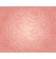 Decorative pink pattern vector image vector image
