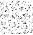 branches seamless pattern vector image