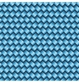 Seamless tiling wicker texture vector image