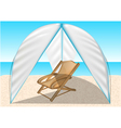 summer tent vector image