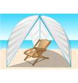 summer tent vector image