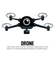 icon drone technology graphic vector image
