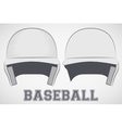 Baseball Helmets sketch vector image