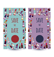 card templates invitations save the date vector image