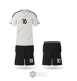 Germany team uniform 01 vector image