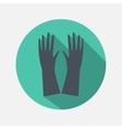 hands icon vector image vector image