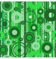 stylish green background illustration vector image