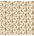 Cream Rose pattern vector image