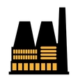 Factory industry industrial icon vector image