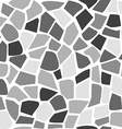 Abstract mosaic pattern seamless stone pattern vector image