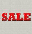 Sale canvas vector image