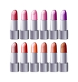 lipstick set - vector image