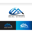 Real Estate House Roof Logo Icon vector image vector image
