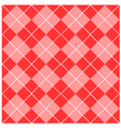 Argyle Pink Seamless Pattern vector image
